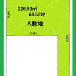 【売地:袖ヶ浦海側区画整理地】68.52坪♪袖ヶ浦駅徒歩10分!建築条件付き